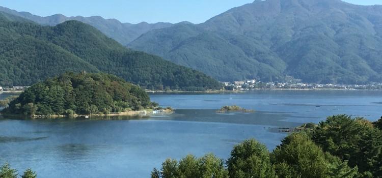 「壮大なパワーを満喫する」~河口浅間神社&母の白滝①