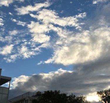 雨上がりの空を見上げて~